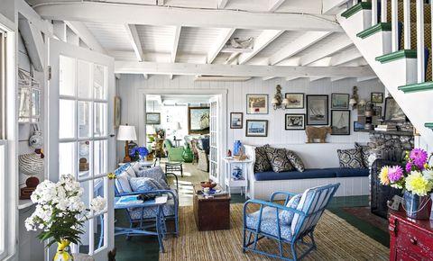 Interior design, Green, Room, Flowerpot, Ceiling, Furniture, Floor, Couch, Home, Living room,