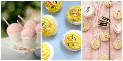Food, Cuisine, Yellow, Sweetness, Dessert, Ingredient, Dishware, Dish, Tableware, Plate,