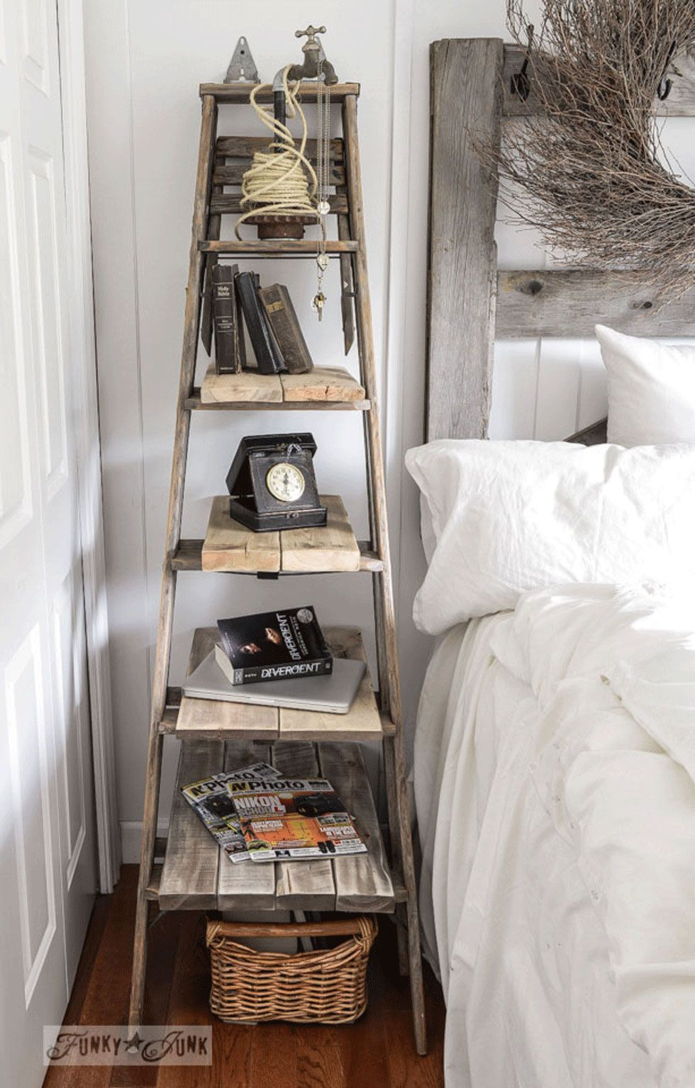 Wooden Ladder Ideas Repurposed Crafts