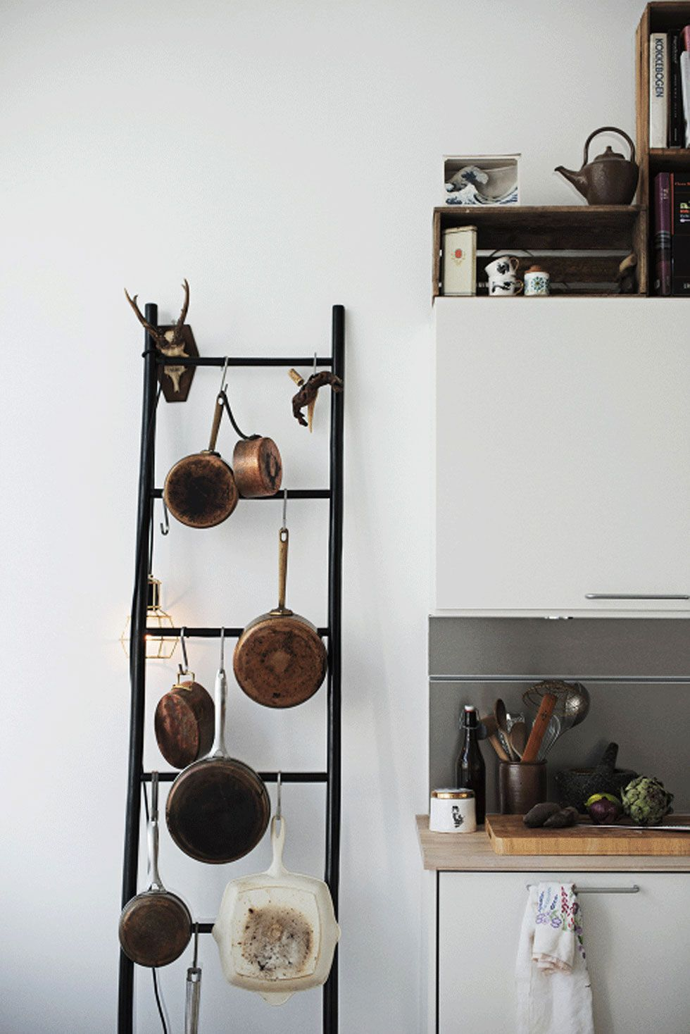 Wooden Ladder Ideas Repurposed Crafts