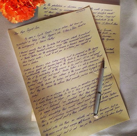 Yellow, Handwriting, Paper product, Stationery, Paper, Document, Writing, Parallel, Calligraphy, Cut flowers,