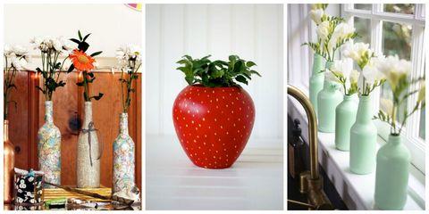 Produce, Fruit, Serveware, Orange, Artifact, Still life photography, Natural foods, Flowerpot, Vase, Interior design,