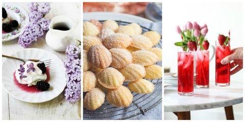 Floral Infused Dessert - Dessert Recipes