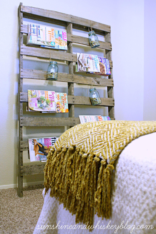 11 clever diy magazine storage ideas - diy magazine holder