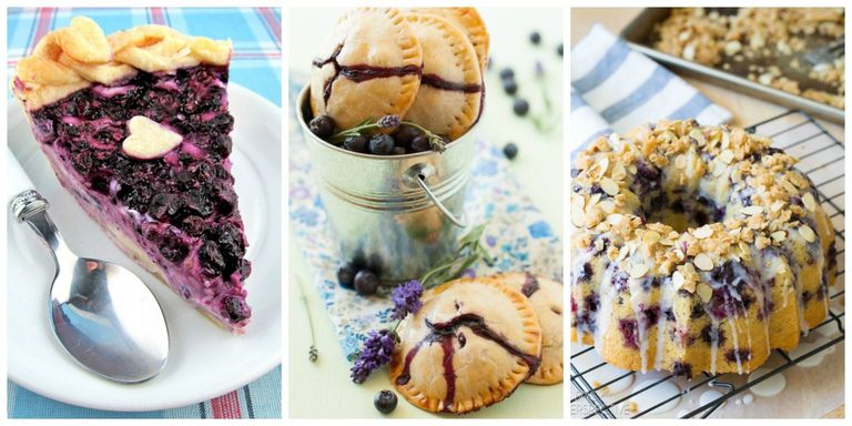 17 easy blueberry recipes what to make with blueberries treat your tastebuds to these tangy twists on classic sweet and savory dishes featuring the rich taste of blueberries forumfinder Images
