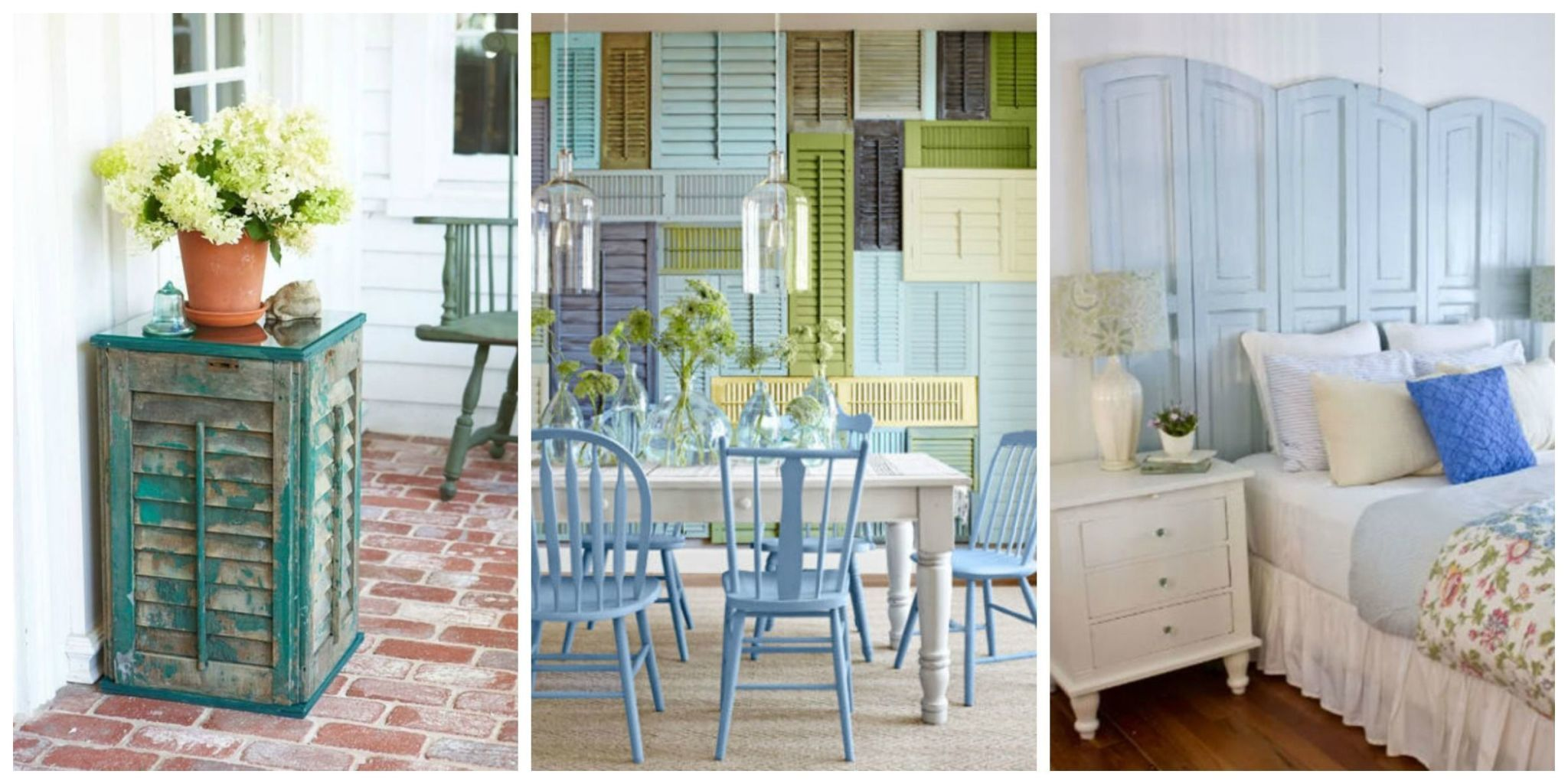 From Headboards To Planters, Itu0027s Time To Find A Crafty New Use For Your  Old Shutters.