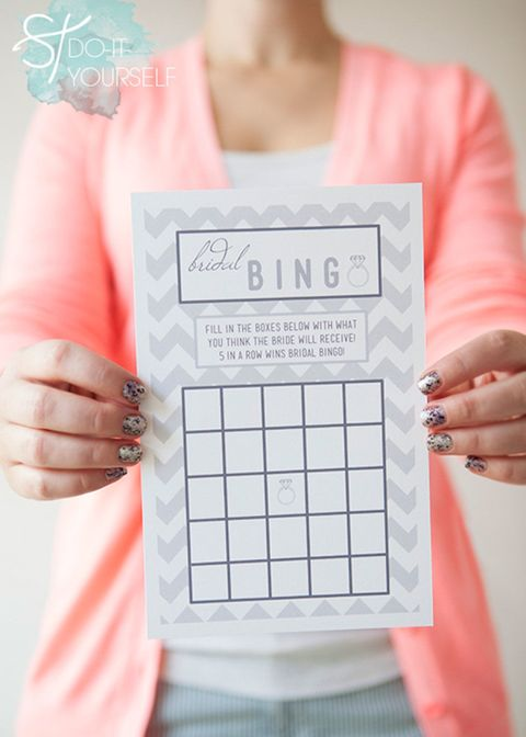 image courtesy of something turquoise bridal shower bingo