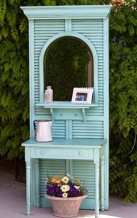 11 Repurposed Shutter Crafts Recycled Craft Ideas
