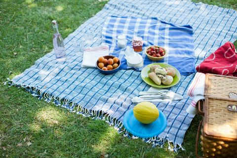 Food, Table, Tablecloth, Tableware, Plate, Cuisine, Sharing, Linens, Meal, Picnic,