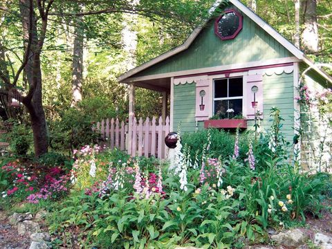 Give Your Shed A Fresh Coat Of Paint