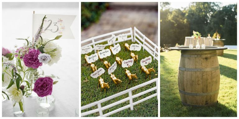 Diy wedding decorations wedding decoration ideas say goodbye to expensive centerpieces guest books place cards and more with these easy decorations junglespirit Images