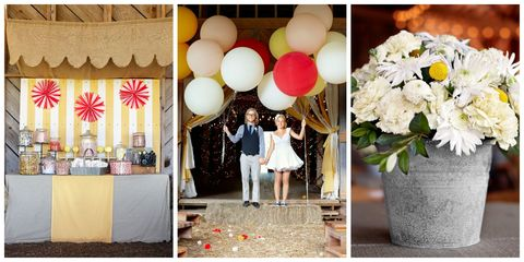 Carnival Themed Wedding This Charmed Their Guests With Playful Touches That Put A Personal Stamp On One Of Kind Affair