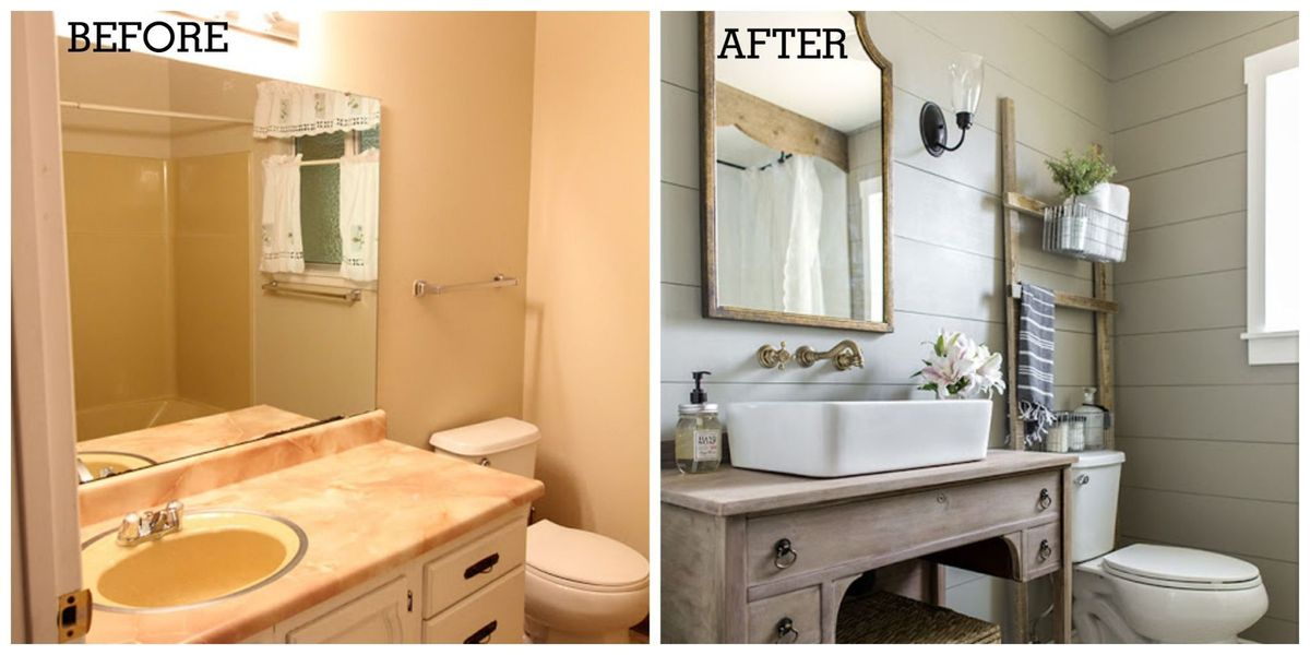 One Of The Most Beautiful Diy Bathroom Renovations Ever Bathroom Remodeling Ideas