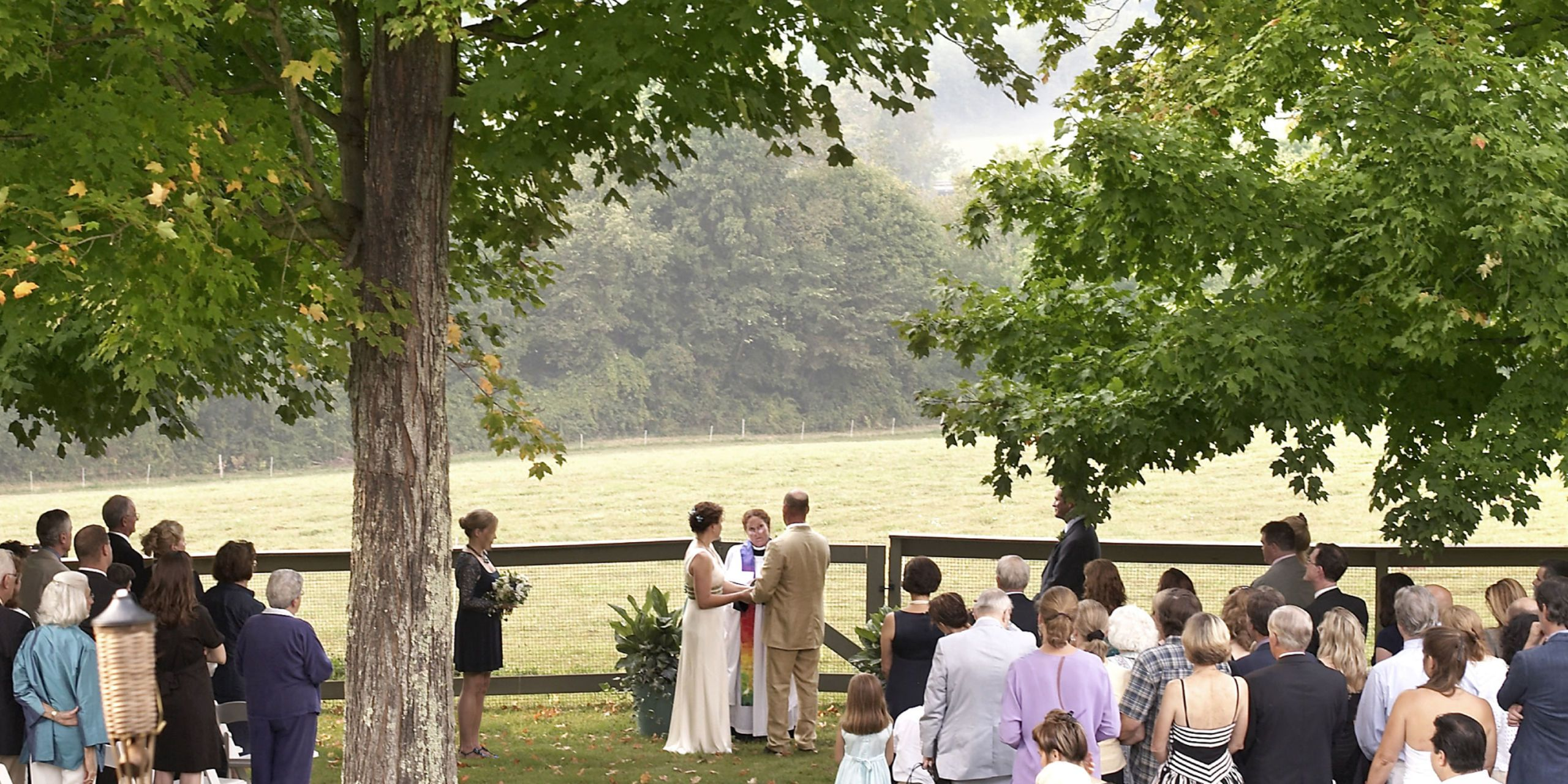 ... Farmers Who Share Close Ties To The Land Made A Commitment One  Afternoon To Their Love And Their Community, With A Wedding As Natural As  The Outdoors.