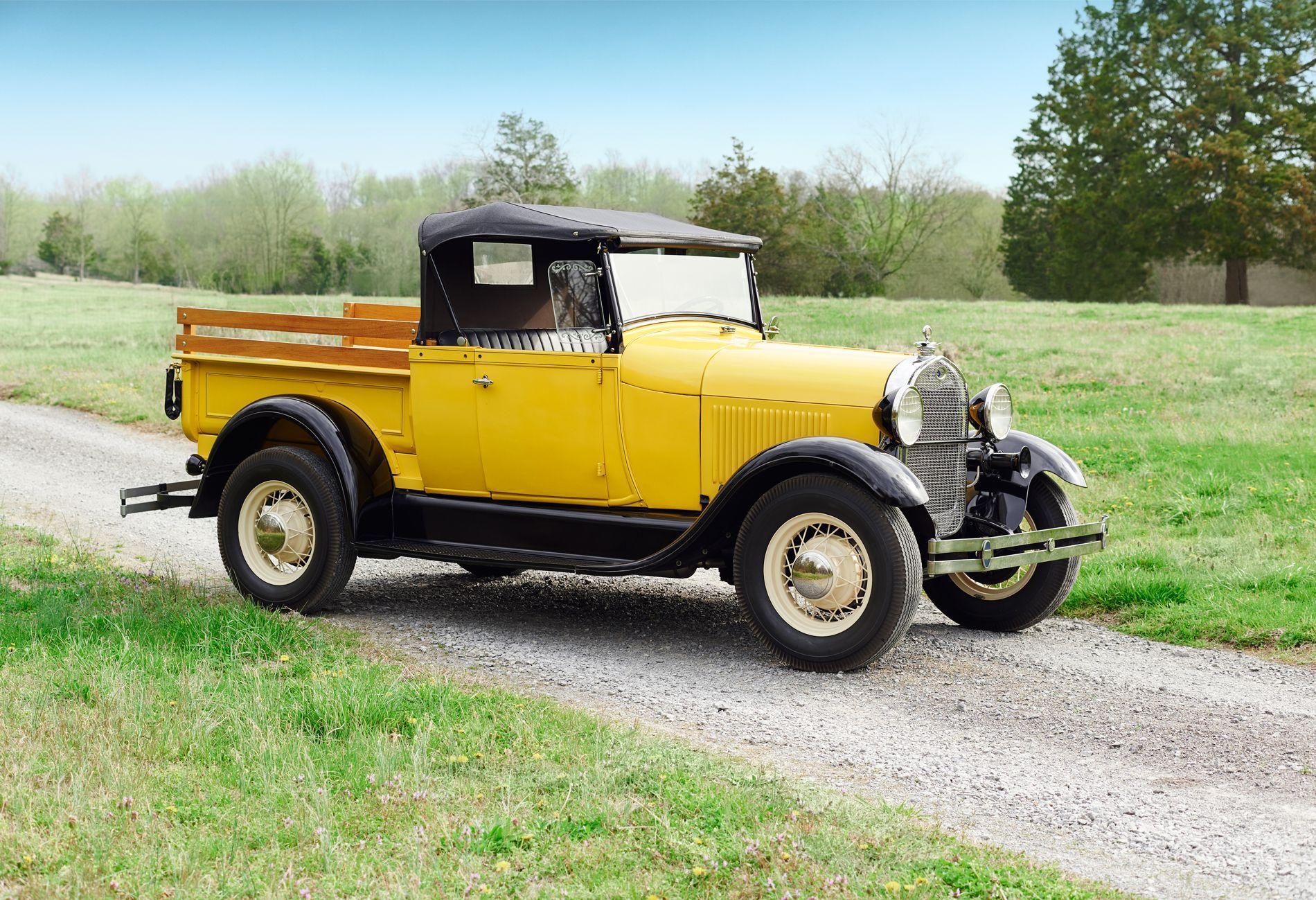Classic American Pickup Trucks - History of Pickup Trucks