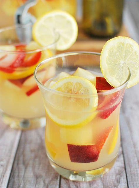 Pineapple Lemonade Sangria Recipe