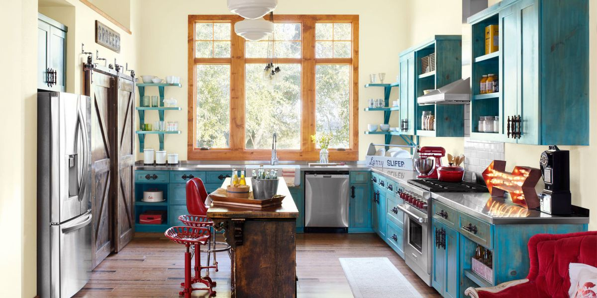 10 Ways To Add Colorful Vintage Style To Your Kitchen Junk