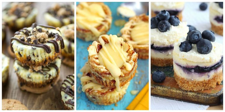 25 Easy Mini Cheesecake Recipes Best Bite Size Cheesecakes