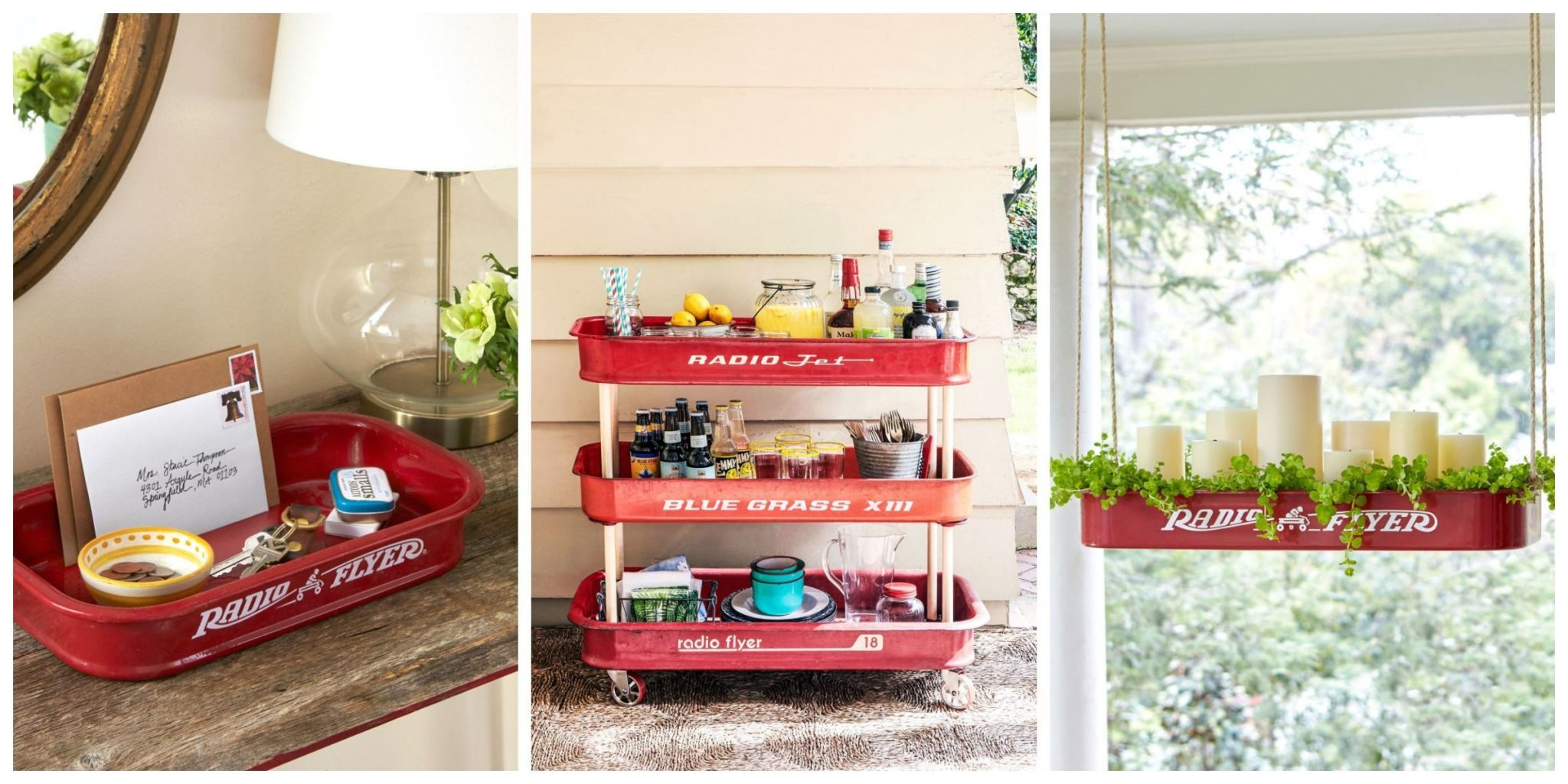 5 Crafty And Creative Ways To Repurpose A Little Red Wagon Diy Craft Projects For The Home