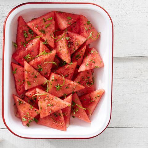 food, watermelon, dish, cuisine, melon, ingredient, citrullus, side dish, recipe, produce,