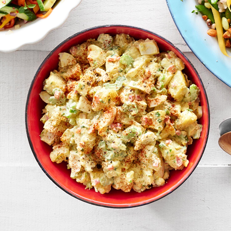 Deviled Egg Potato Salad Recipe Easy