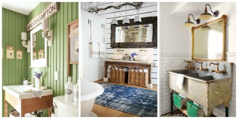 From Vintage Fixtures To Bold Wallpaper Patterns These Beautiful Bathroom Design Ideas Will Make Your Home S Smallest Room The Most Peaceful Spot In