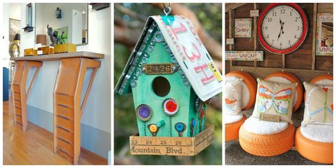 Birdhouse, Birdhouse, Turquoise, Teal, Cabinetry, Pet supply, Home accessories, Wall clock, Circle, Plywood,