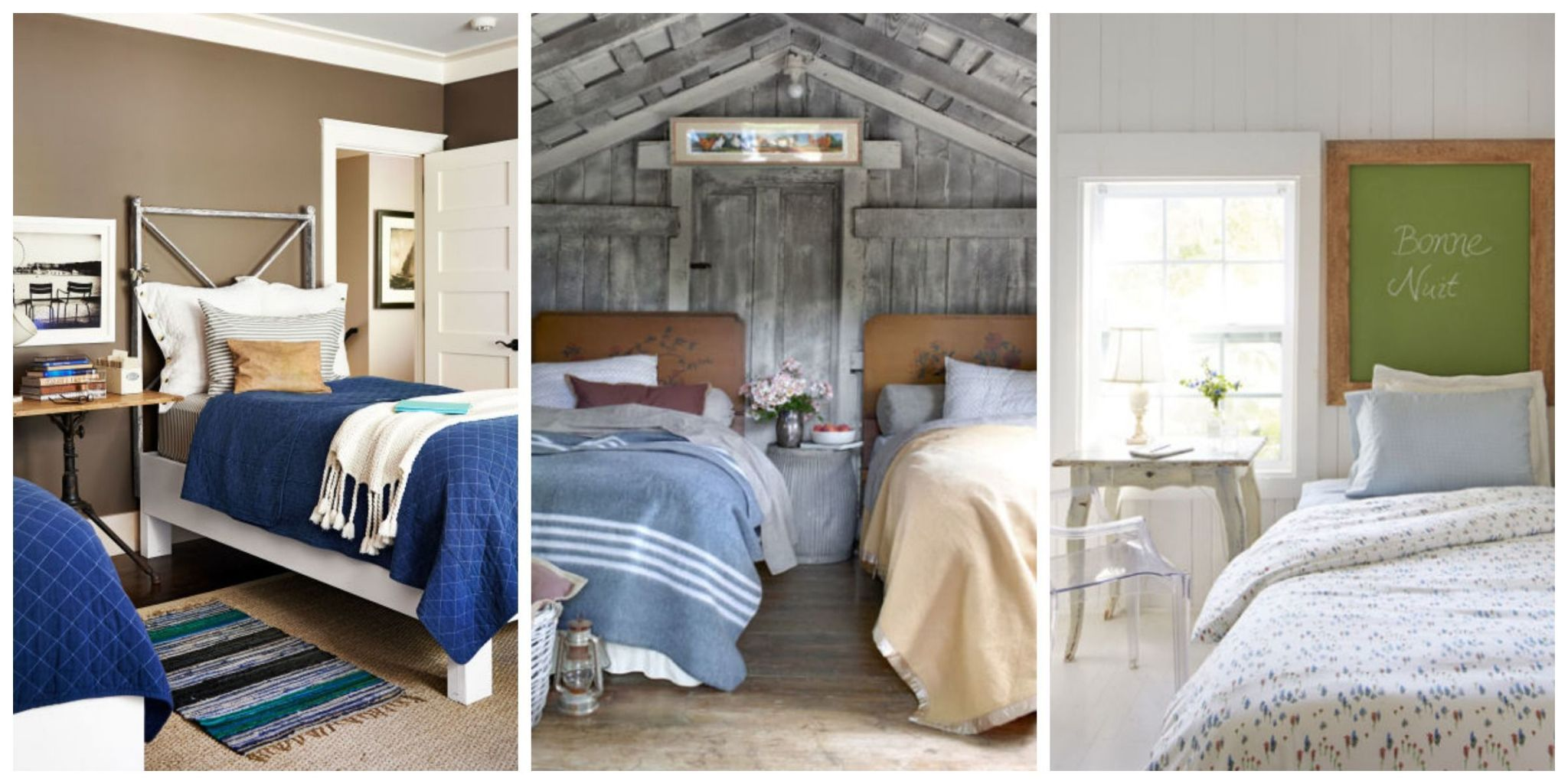 39 guest bedroom pictures decor ideas for guest rooms rh countryliving com Guest Bedroom Design Ideas Guest Room Nursery Ideas