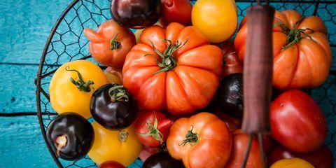 Whole food, Vegan nutrition, Local food, Produce, Natural foods, Food, Vegetable, Ingredient, Orange, Bush tomato,