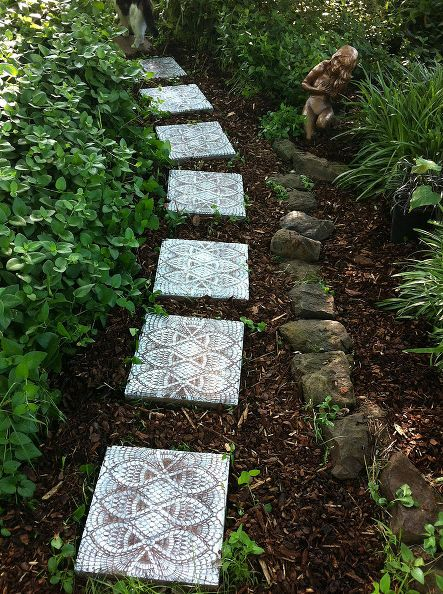 Image Courtesy Of HomeTalk This Garden Path