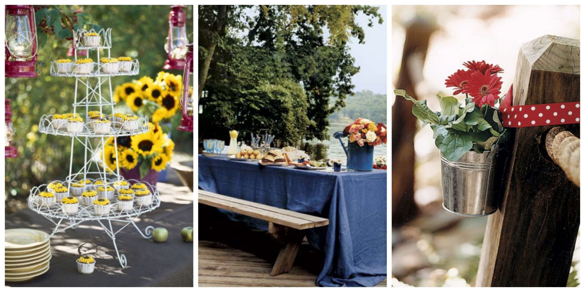 No Matter What The Theme, Get Ideas For Table Settings, Flowers, And Other  Decorations For Your Next Outdoor Party.