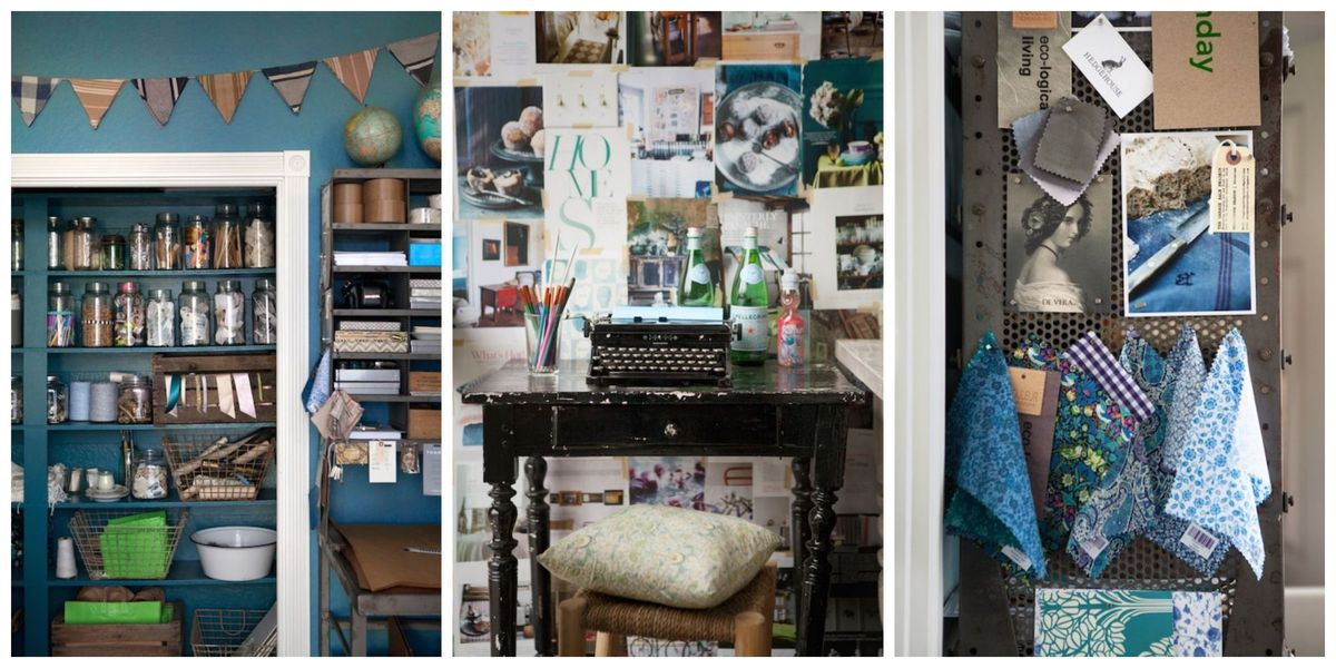 Office Storage Creative Ideas: 8 Inspiring Home Office Decorating Ideas From A Cozy And