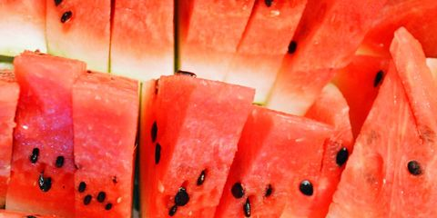 Citrullus, Melon, Food, Red, Produce, Watermelon, Natural foods, Orange, Carmine, Peach,