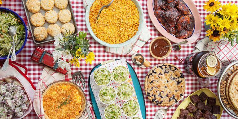 Easy Potluck Recipes on Backyard Outdoor Kitchen Ideas