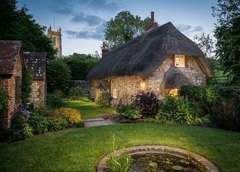 Plant, Property, Garden, Tree, Landscape, House, Shrub, Real estate, Home, Land lot,