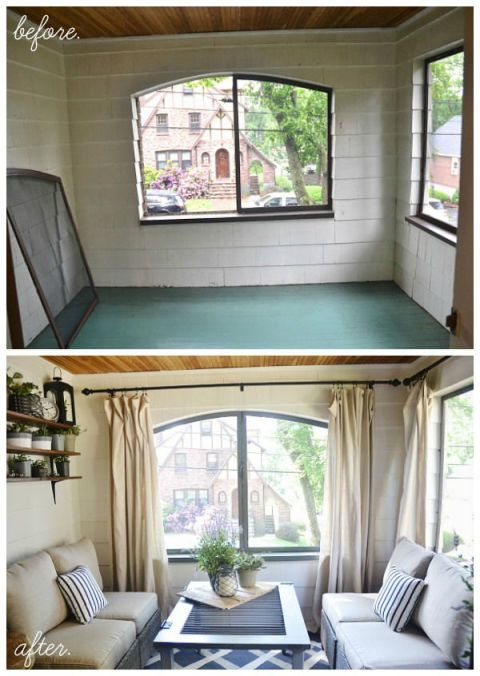 7 Decorating Lessons to Learn From This Stylish Sunroom Makeover ...