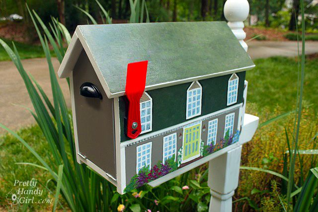 8 easy diy mailbox designs decorative mailbox ideas - Mailbox Design Ideas