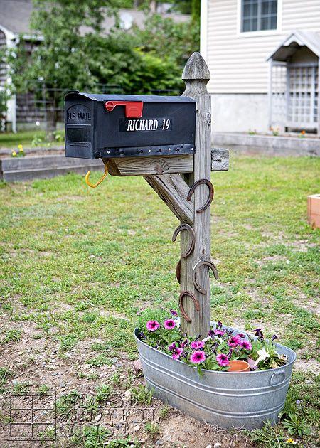 8 Easy DIY Mailbox Designs - Decorative Mailbox Ideas