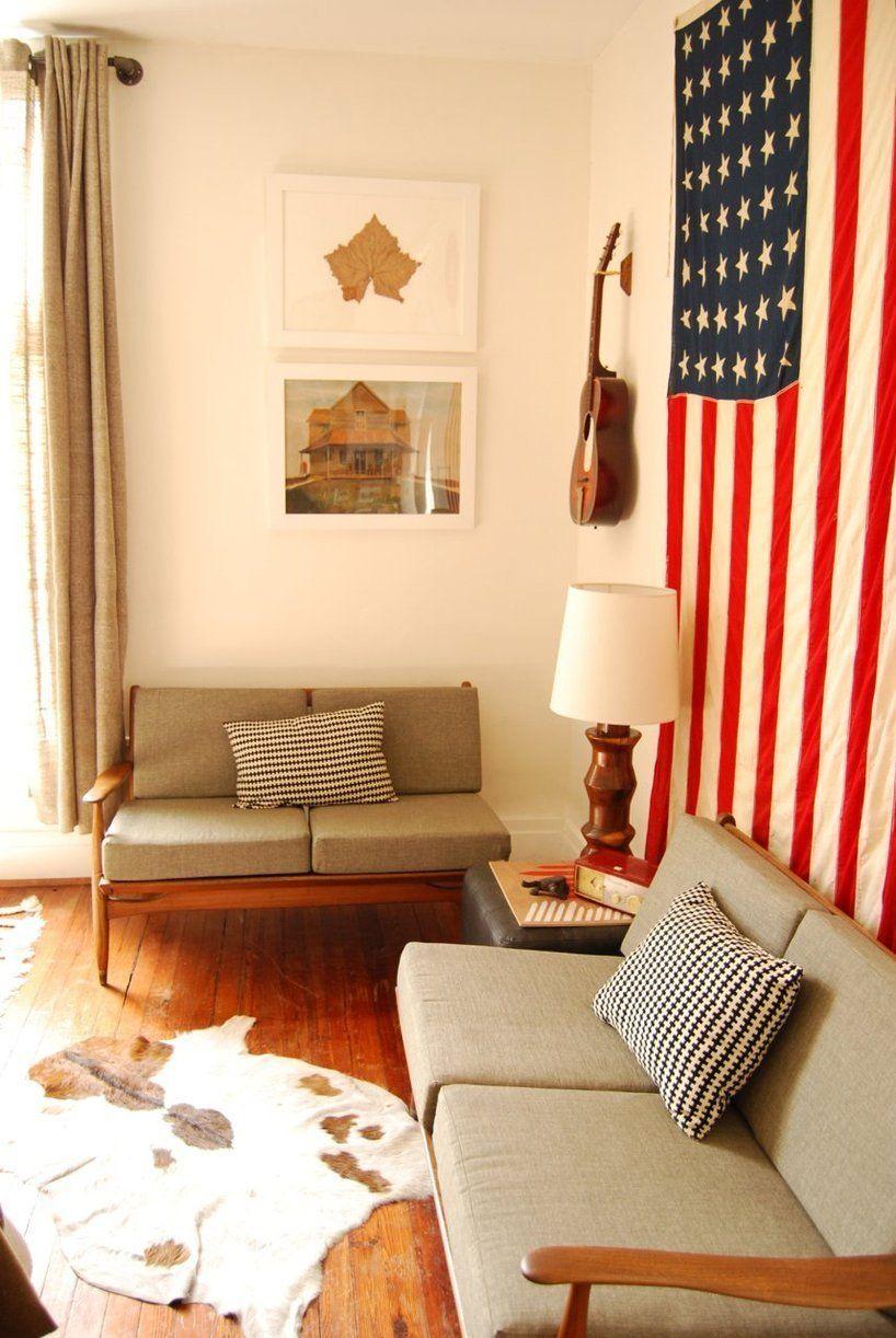 Americana Home Decor - Antique Flags