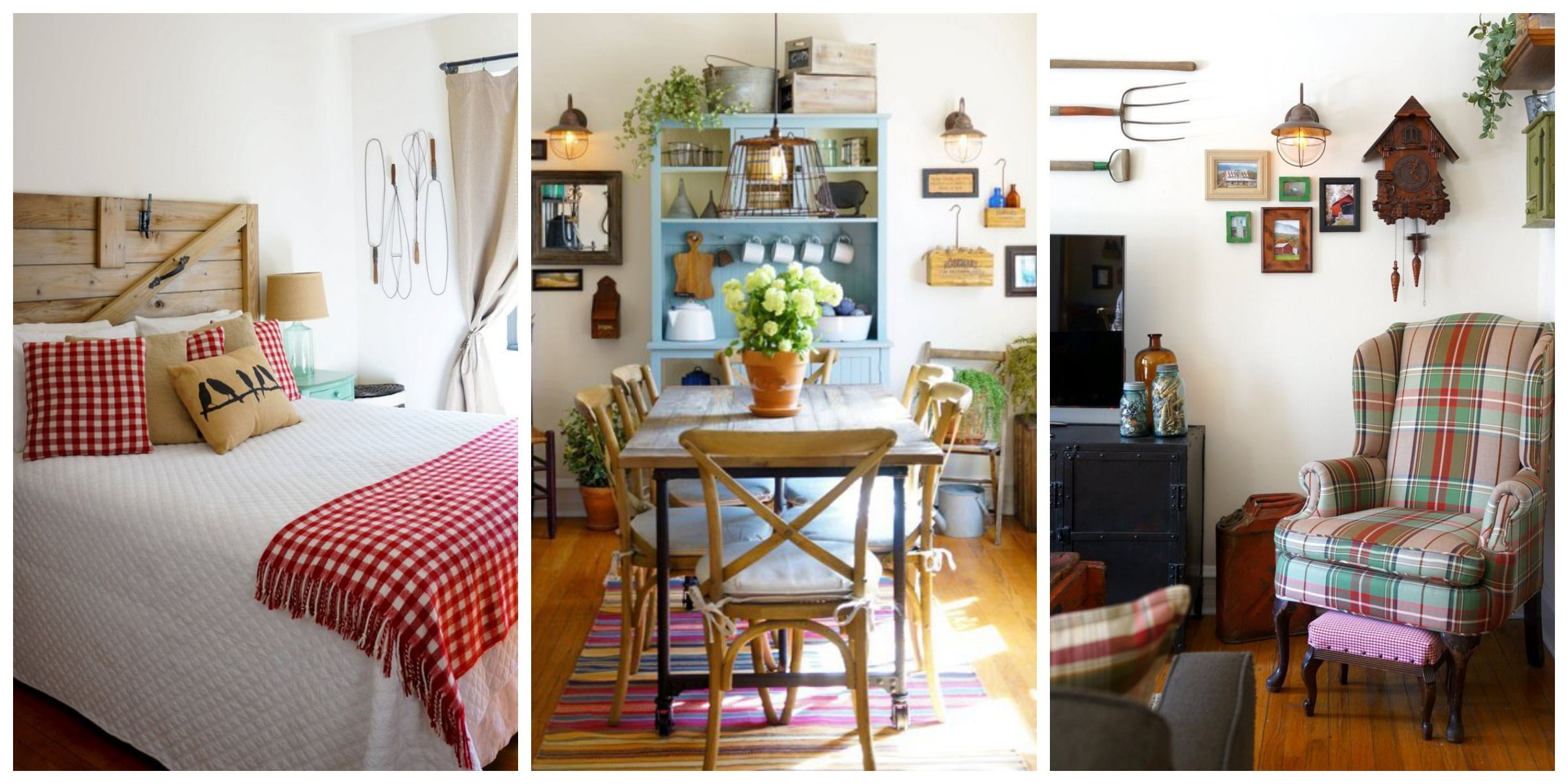 Were crushing on the primitive country decor in this city apartment farmhouse decorating ideas