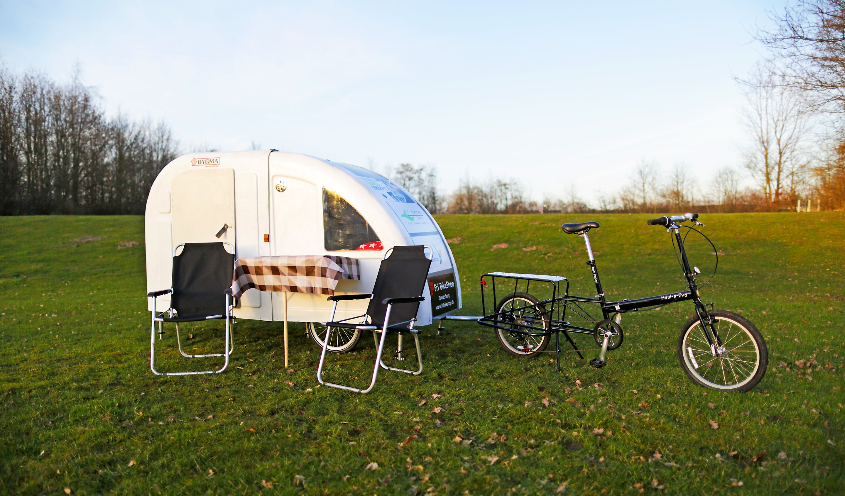 Micro Bicycle Camper - Tiny Camper That Attaches to Your Bike