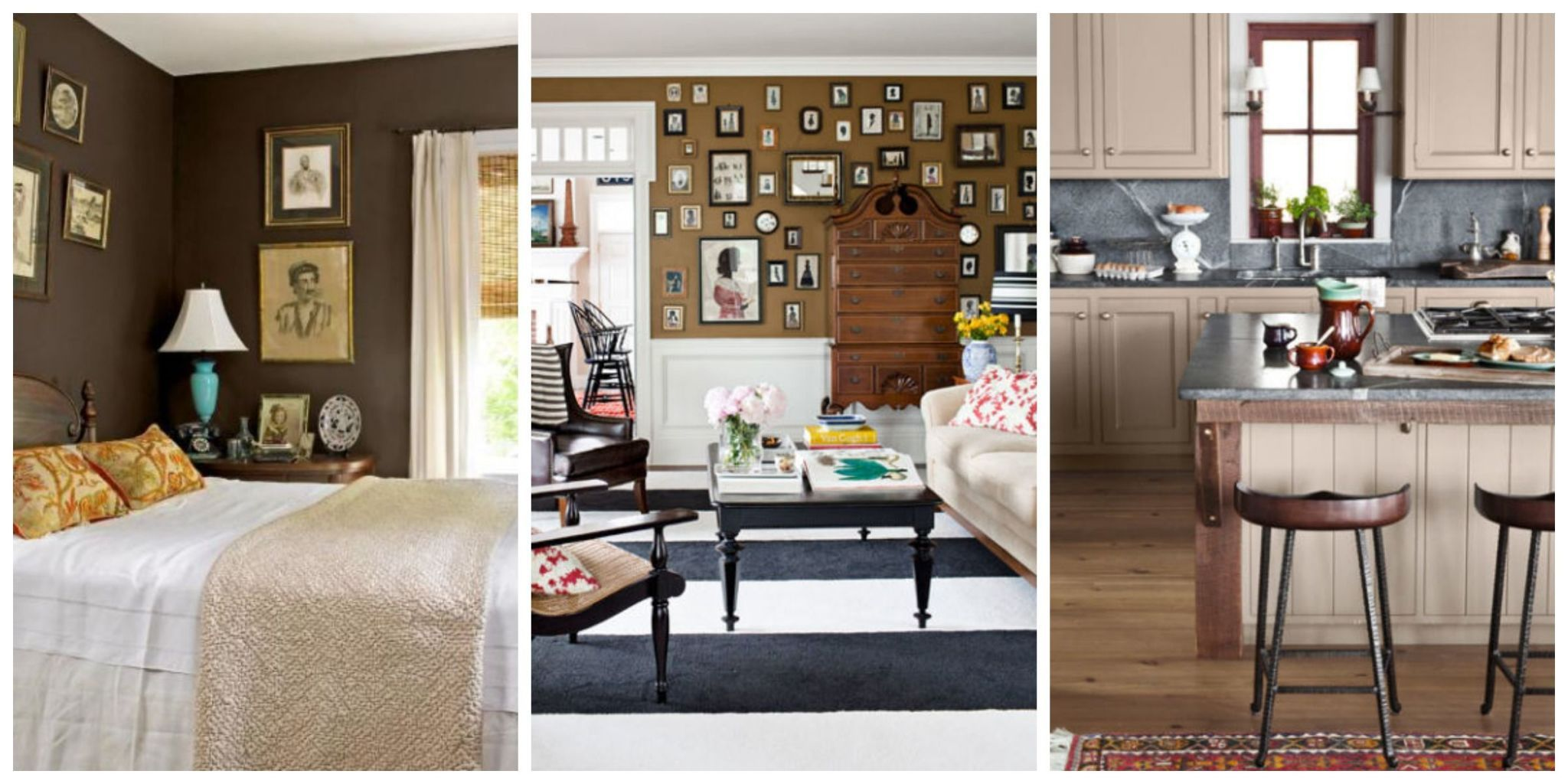 See Our Ideas For Decorating With Brown, A Hue Sure To Make Your Space Feel  Warm And Cozy.