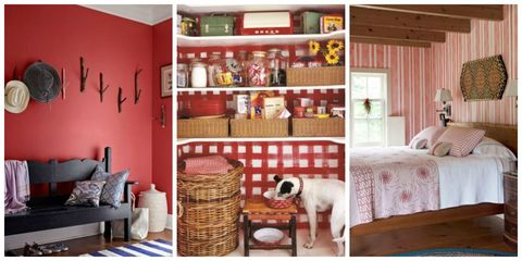 Daring And Bold Red Is A Ful Color That Can Transform Your Home