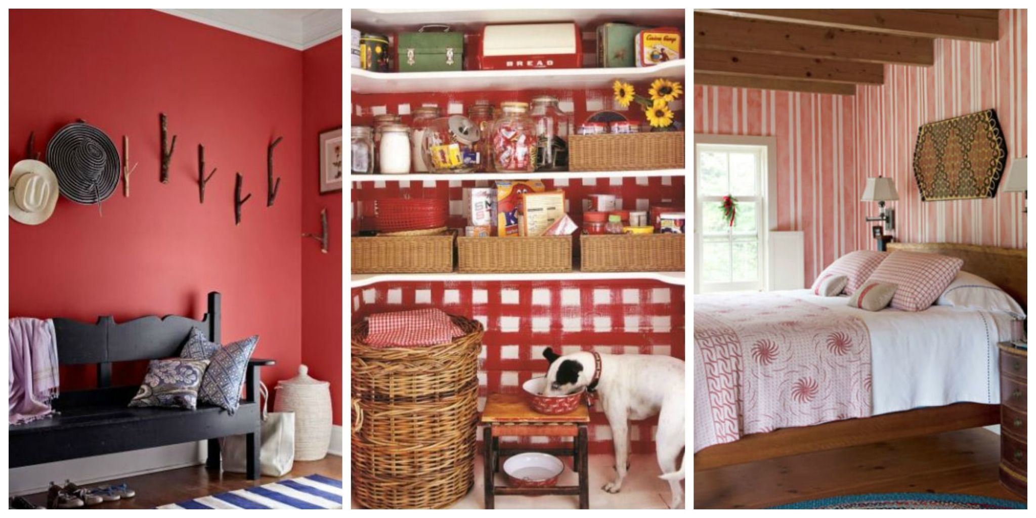 Daring And Bold, Red Is A Powerful Color That Can Transform Your Home.