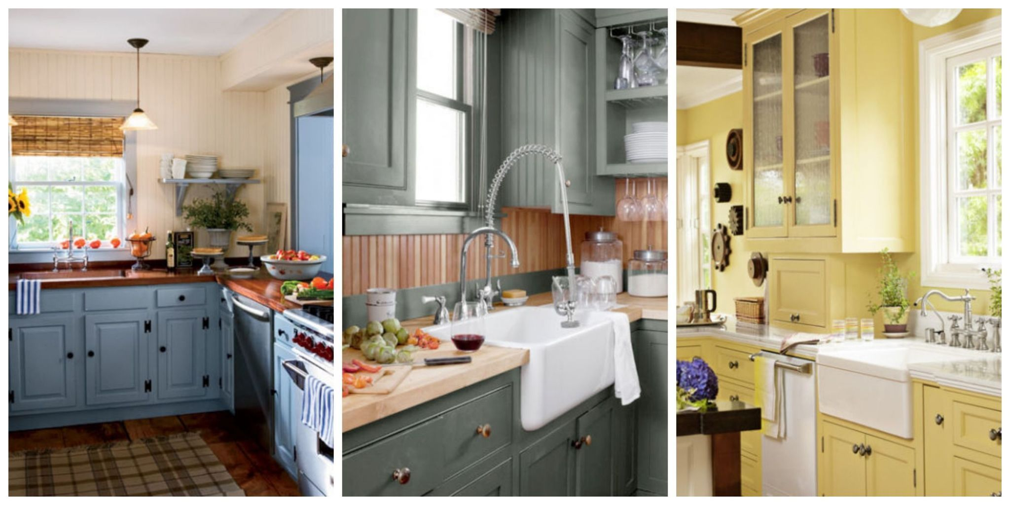 Create a beautiful and colorful kitchen with these paint and decorating ideas. Also check out these 100+ kitchen design ideas for more inspiration. & 15+ Best Kitchen Color Ideas - Paint and Color Schemes for Kitchens