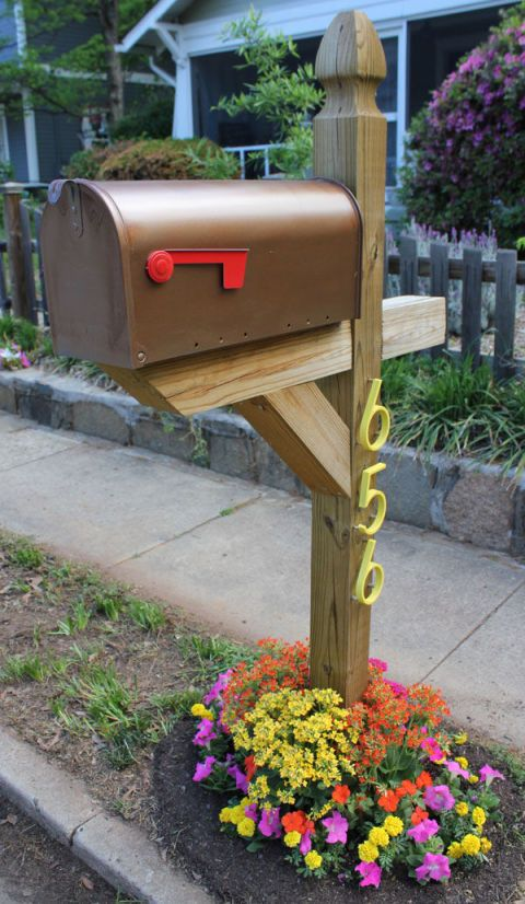 Creative mailbox ideas Diy Image Country Living Magazine Easy Diy Mailbox Designs Decorative Mailbox Ideas