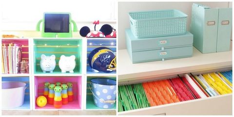 Room, Teal, Turquoise, Chest of drawers, Aqua, Shelving, Baby toys, Drawer, Toy, Plastic,