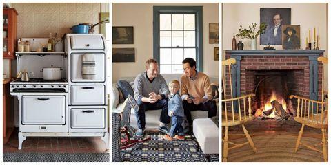 Human, Wood, Hearth, Room, Home, Comfort, Major appliance, Fireplace, Heat, Living room,