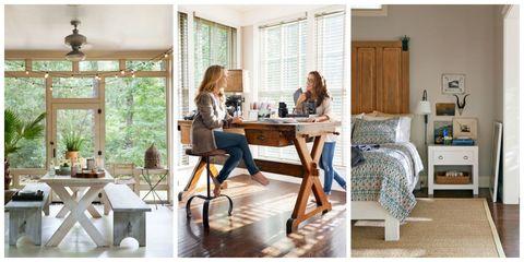 Lighting, Room, Interior design, Wood, Furniture, Table, Home, Floor, Interior design, Flooring,