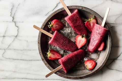 Food, Sweetness, Produce, Ingredient, Fruit, Carmine, Recipe, Natural foods, Strawberries, Superfood,